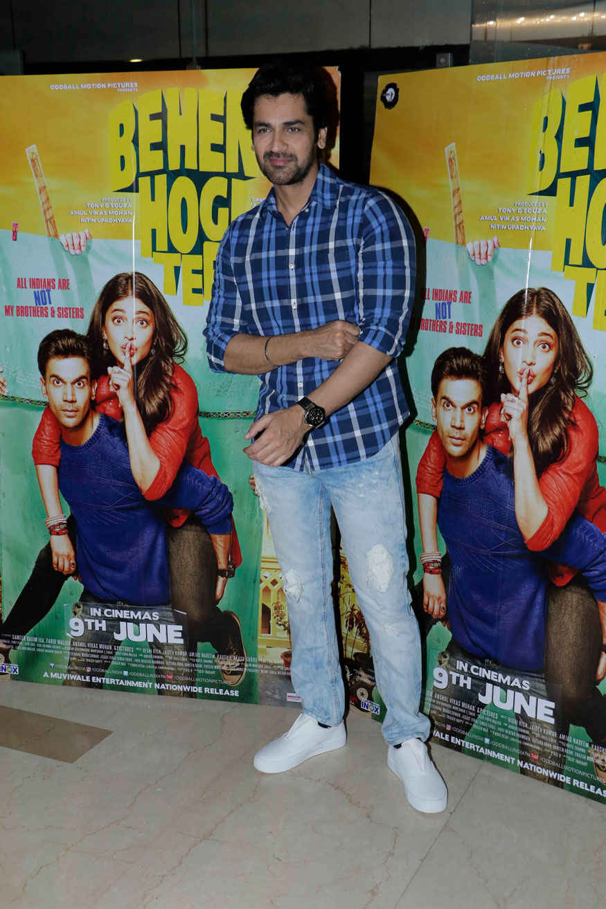 Celebrities Attends The Screening of Behen Hogi Teri at PVR - ICON