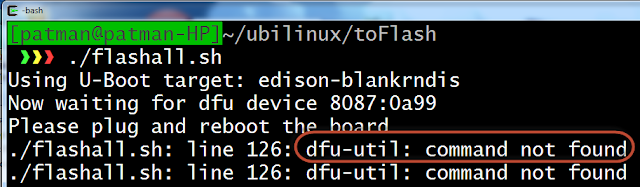 WhiteBoard Coder: Install Ubilinux on Intel Edison
