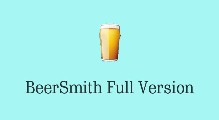 beersmith 3 activation key