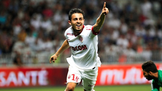 Bernardo Silva AS Monaco Ligue des Champions