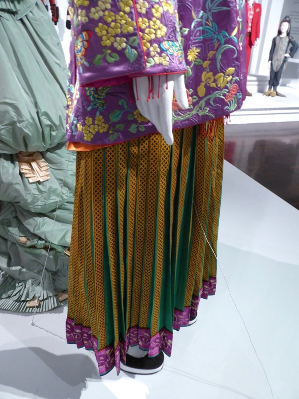Alice Through Looking Glass Asian costume pants