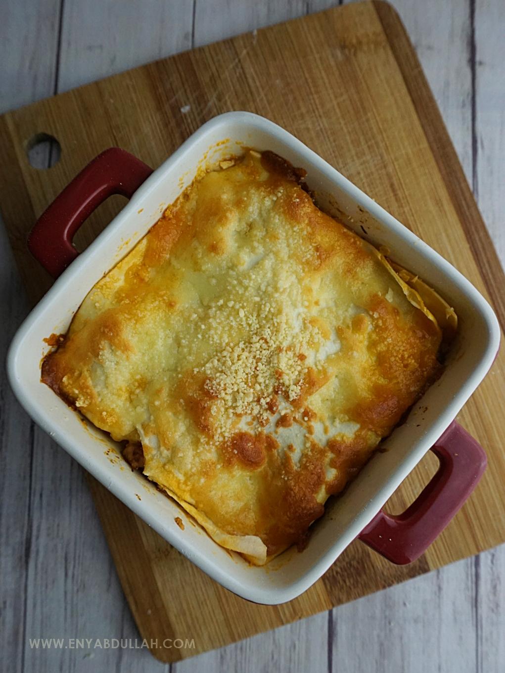 Triple Cheese Lasagna Guna Noodle Maker ! | EnyAbdullah.Com