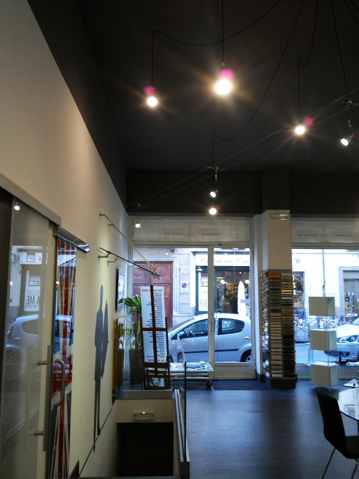 Illuminazione led casa illuminazione a led per la nuova vetreria del centro - Illuminazione per la casa ...