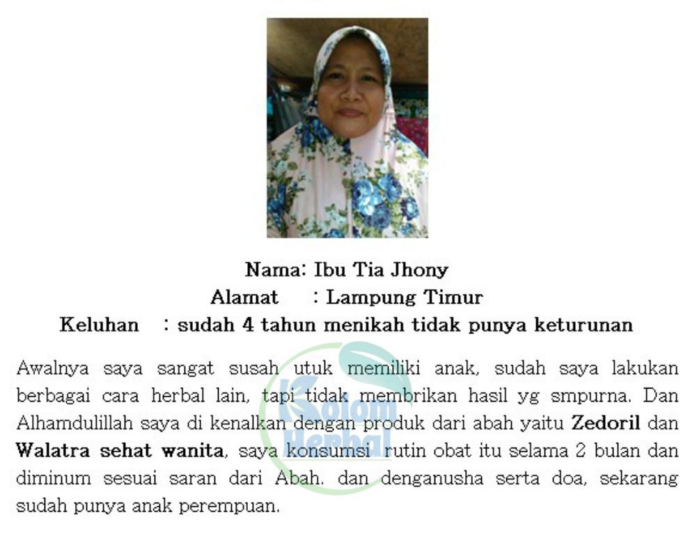 Walatra Bersih Wanita Kapsul