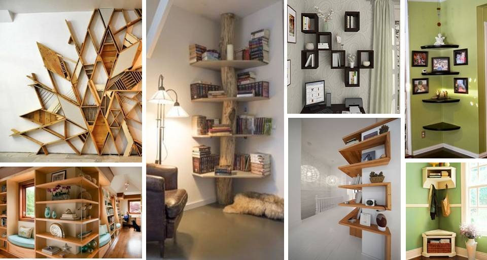 30 Contemporary Interior Wall Decorations Display Corner Shelves Ideas Decor Units