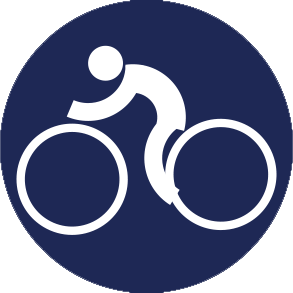 Icon Logo Balap Sepeda Asian Games 2018
