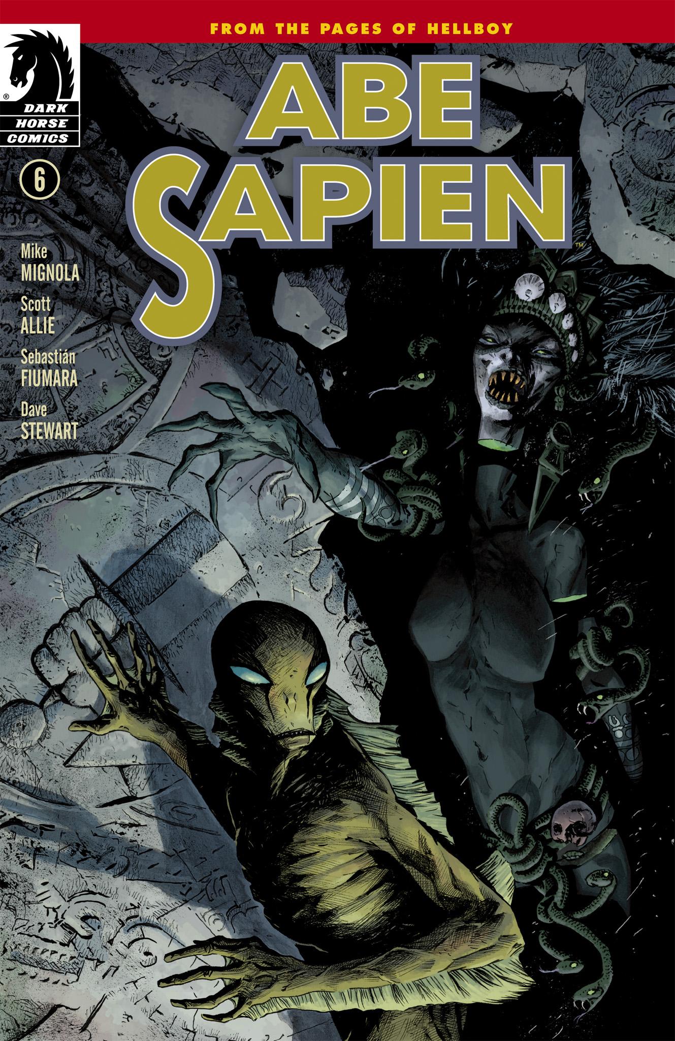Read online Abe Sapien comic -  Issue #6 - 1