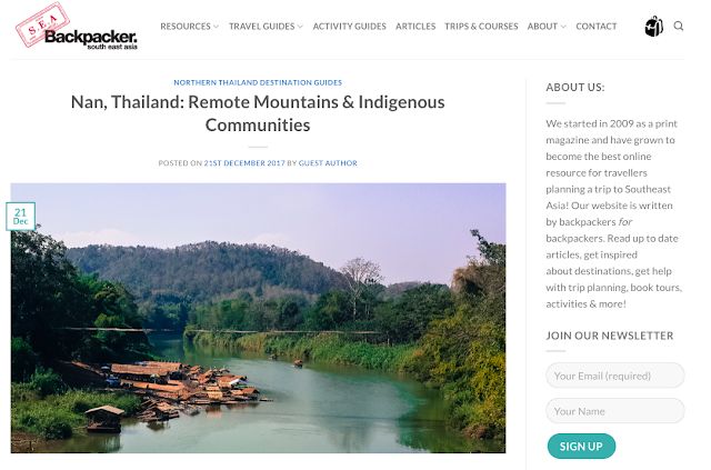 Destination Guide Nan - Northern Thailand by South East Asia Backpacker