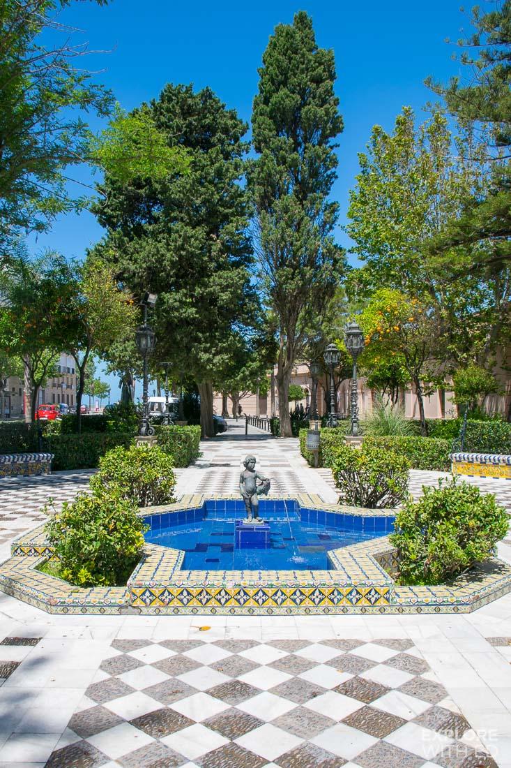 Parks in Cádiz