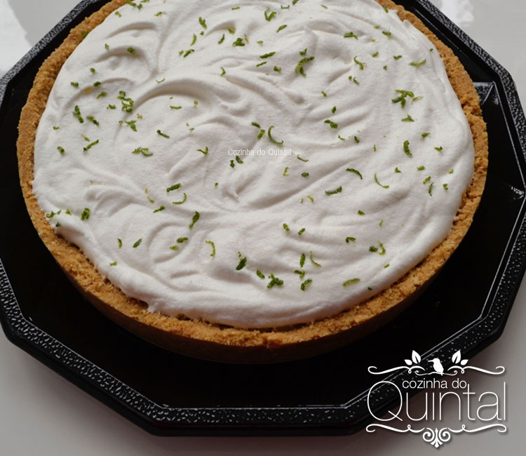 Faça e Venda Torta Musse de Limão na Cozinha do Quintal, que delíciaaaaa