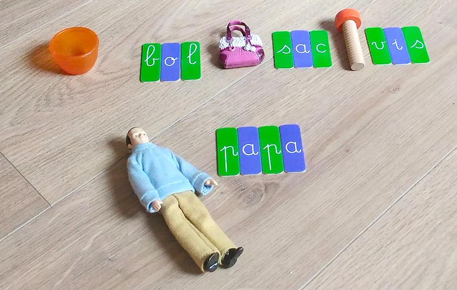 Dictées muettes Montessori