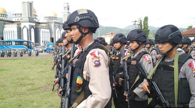 Lagi 115 Brimob Ditempatkan di Abdya