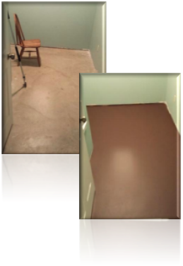 Barbara Ivie Green Diy How To Paint A Faux Wood Cement Floor