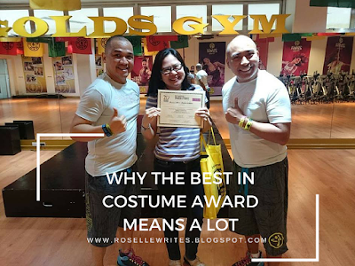 Why The Best In Costume Award Means A Lot