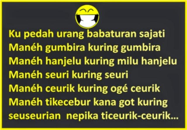 Gambar Gokil Sunda yang Akan Bikin Sahabat Ngakak Tujuh Turunan