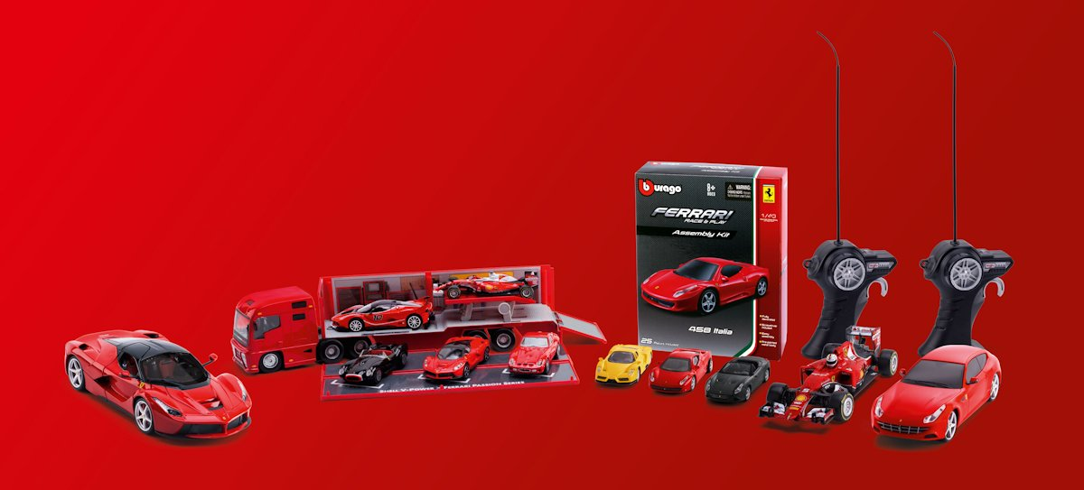 Race To Shell To Start Your Own Ferrari Toy Car Collection