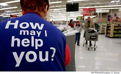 Wal Mart How May I Help You