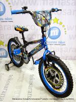 16 Inch Wimcycle Hot Wheels Kids Bike