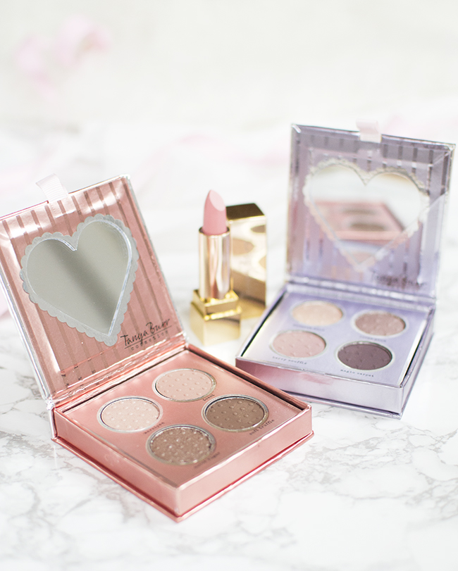 Tanya Burr Birthday Suit Palette, Enchanted Dream Palette and Birthday Cake Lipstick