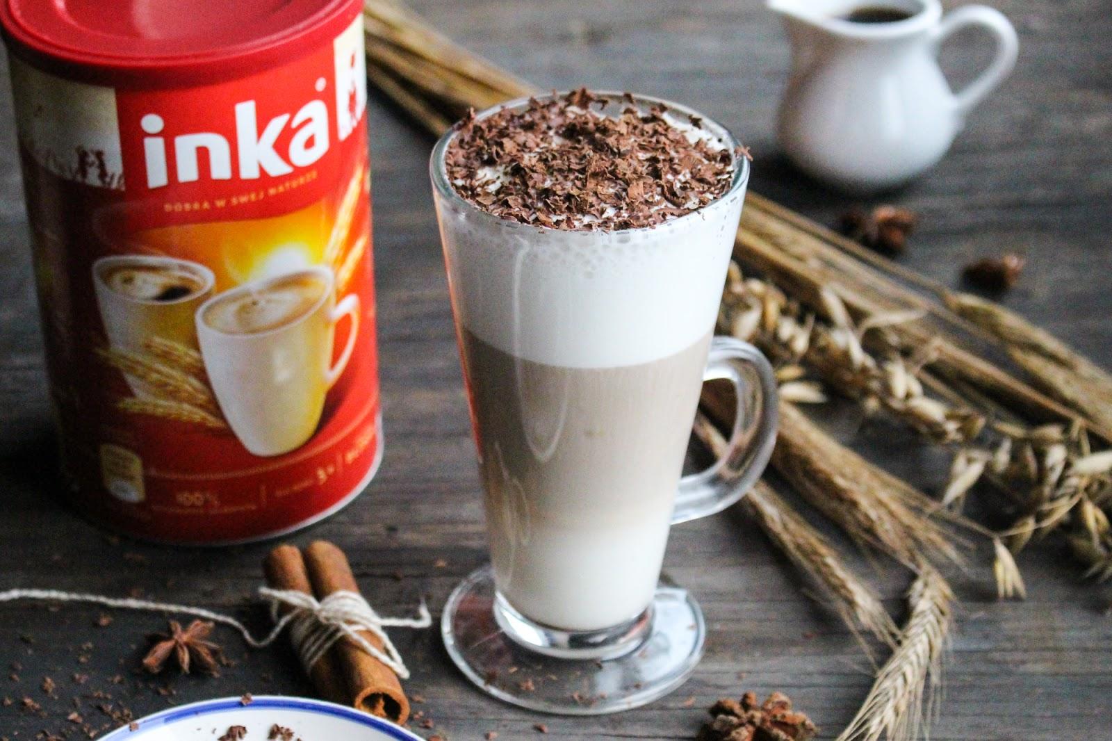 Cynamonowa latte. Kawa idealna na jesienne dni.