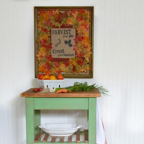 IKEA Bekvam Cart Makeover With Farmhouse Charm