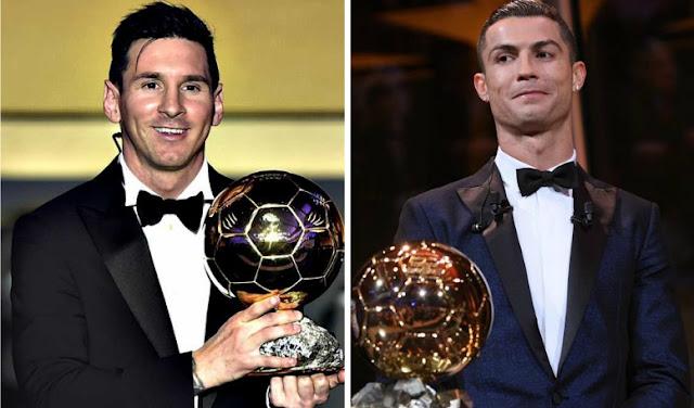 """Cristiano: """"En un honor poder igualar los cinco Balones de Messi...es un gran jugador"""""""