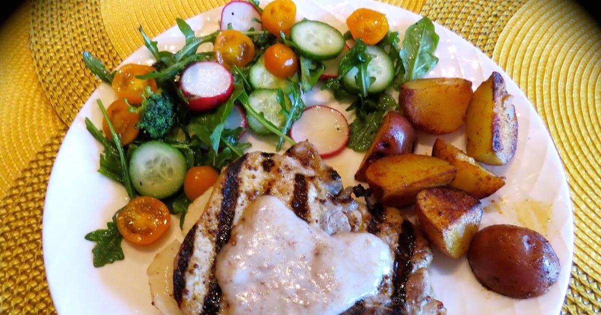 La cuisine de messidor c telettes de porc bbq aux pommes for La fontaine aux cuisines