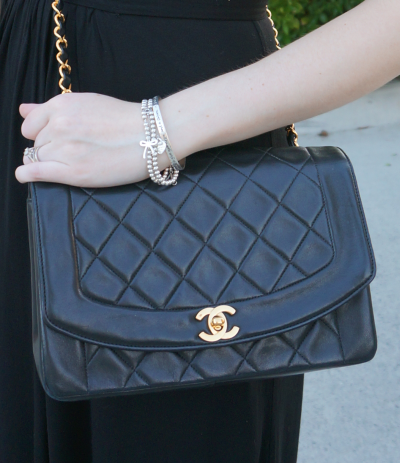 Vintage Chanel quilted flap bag