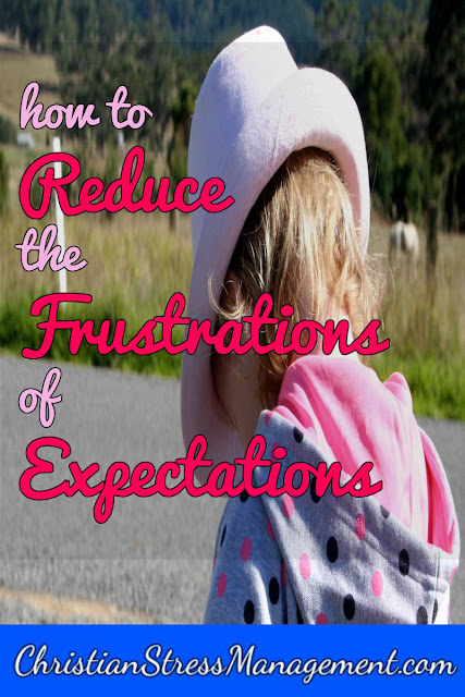 How to reduce the frustrations of expectations