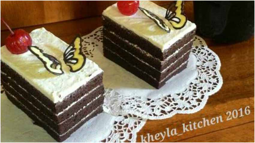 Cara Membuat Cake Coklat Kukus Super Lembut Murmer dan Super Moisttt