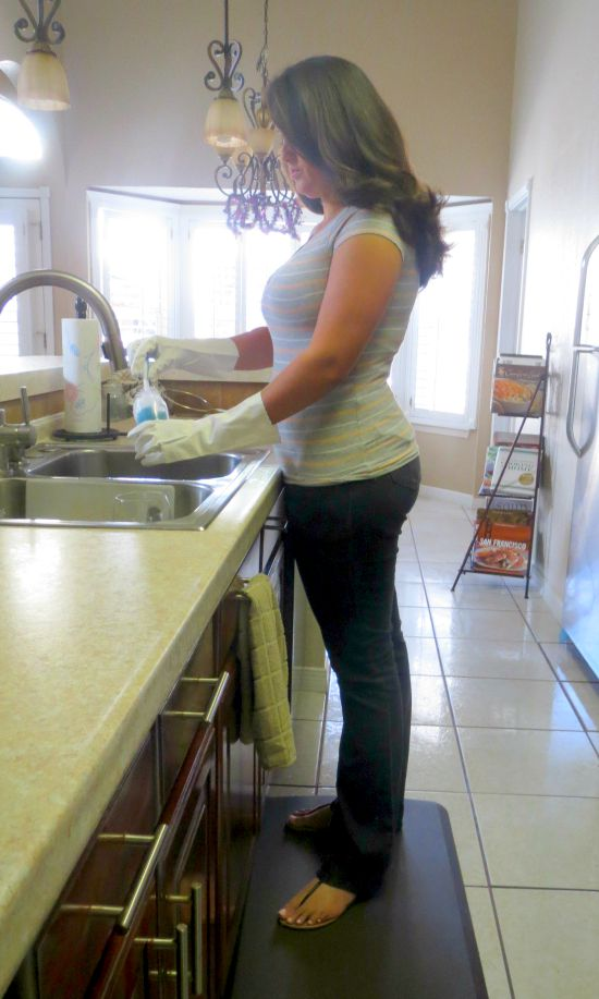 kitchen gel mats mirrors how to enjoy doing dishes with gelpro elite comfort floor mat i m serious like there are 2 reasons for this first we moved into a new house last month and my is awesome