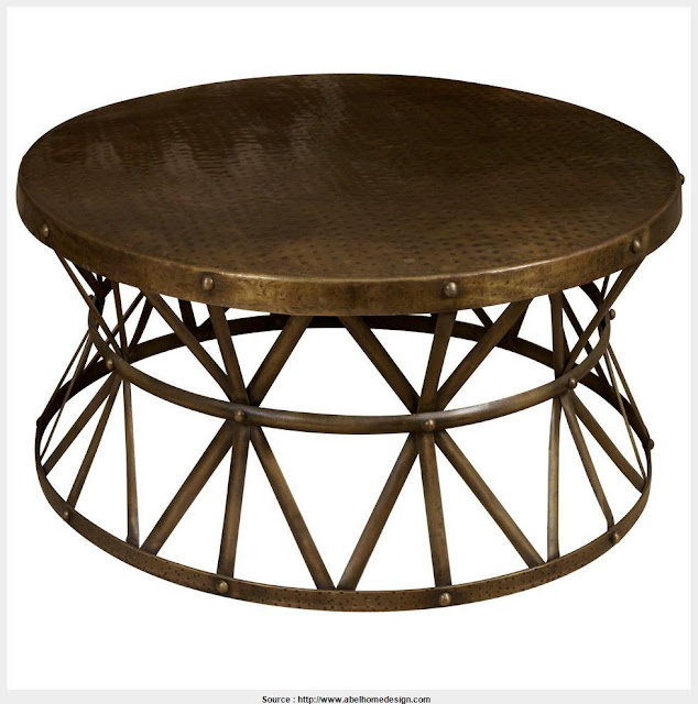 Good Round Metal Coffee Table Gallery