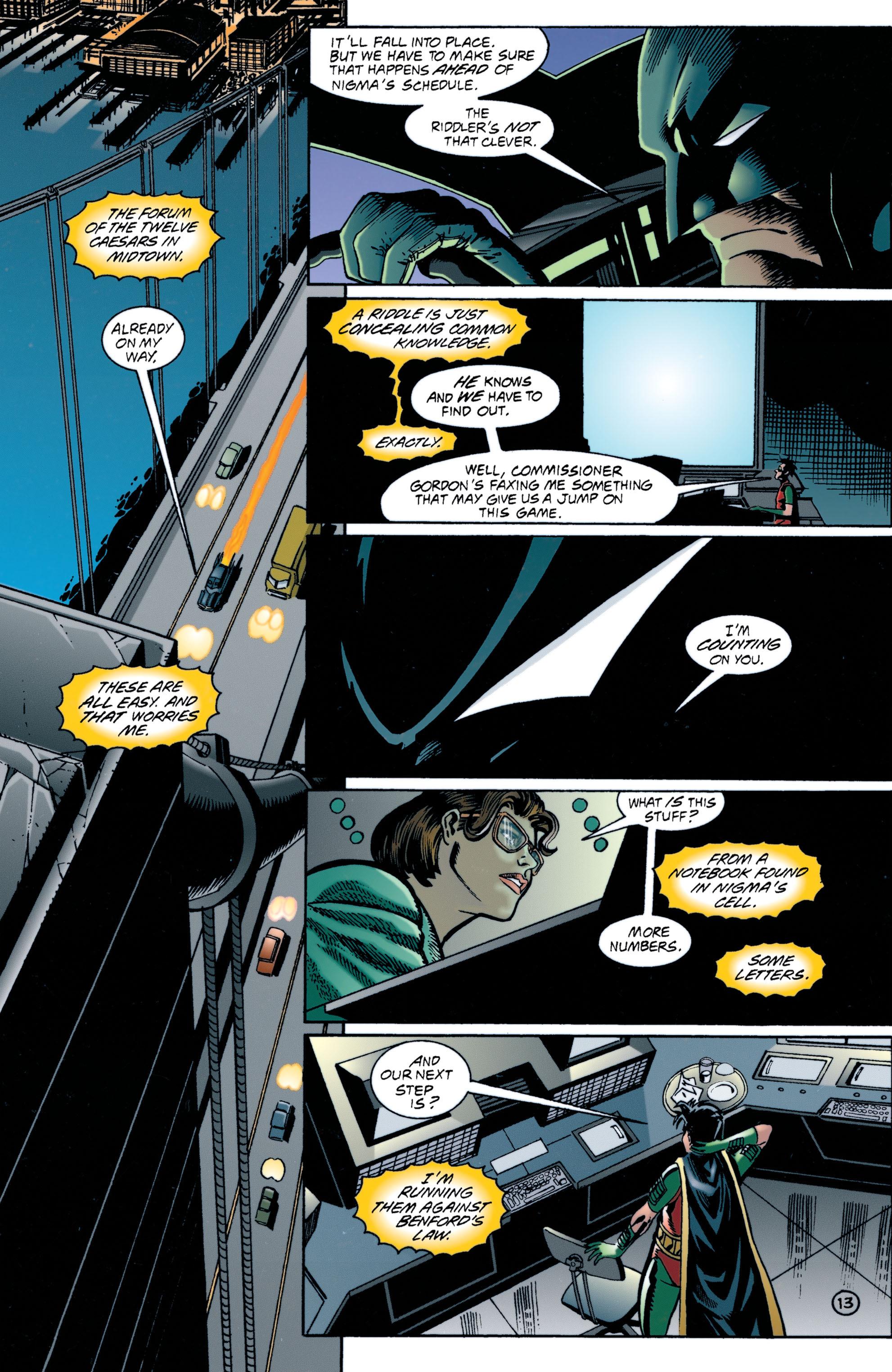Detective Comics (1937) 706 Page 13