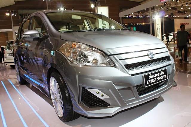 Elegan Modifikasi Suzuki Ertiga Terbaru