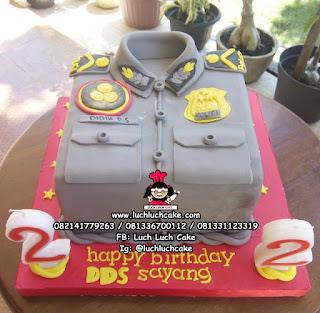Kue Baju Polisi Daerah Surabaya - Sidoarjo