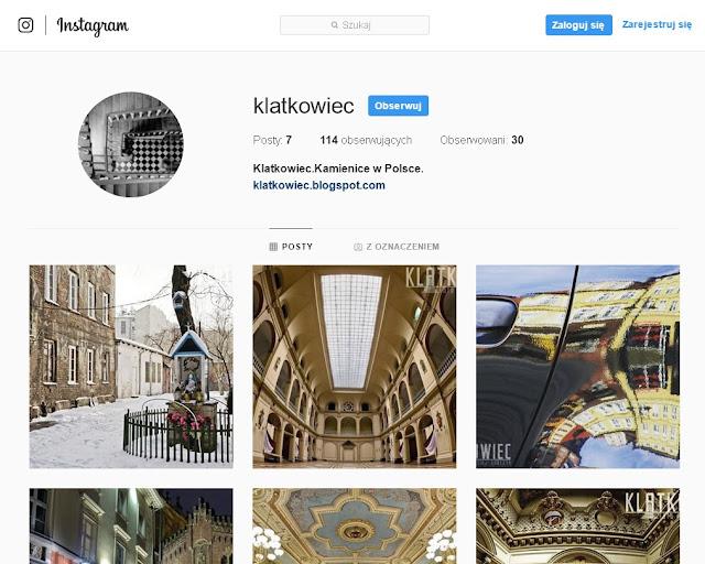 Klatkowiec na Instagramie i inne listopadowe zmiany!