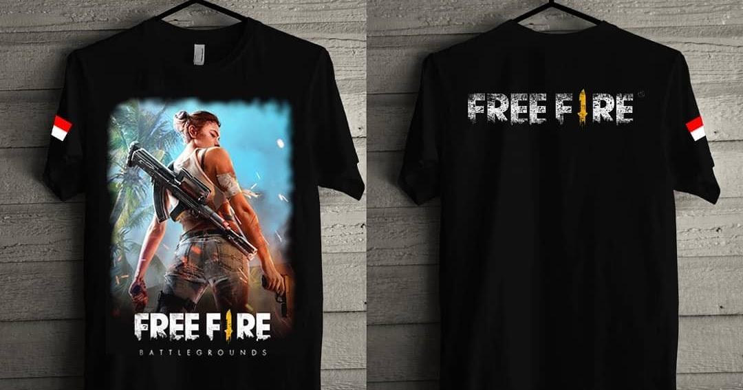 Contoh Desain Baju Free Fire - Inspirasi Desain Menarik