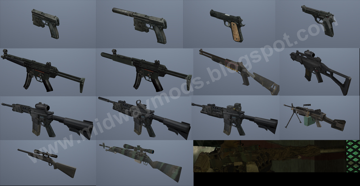 Midway Mods: [REL] Call Of Duty 4 Weapons Pack