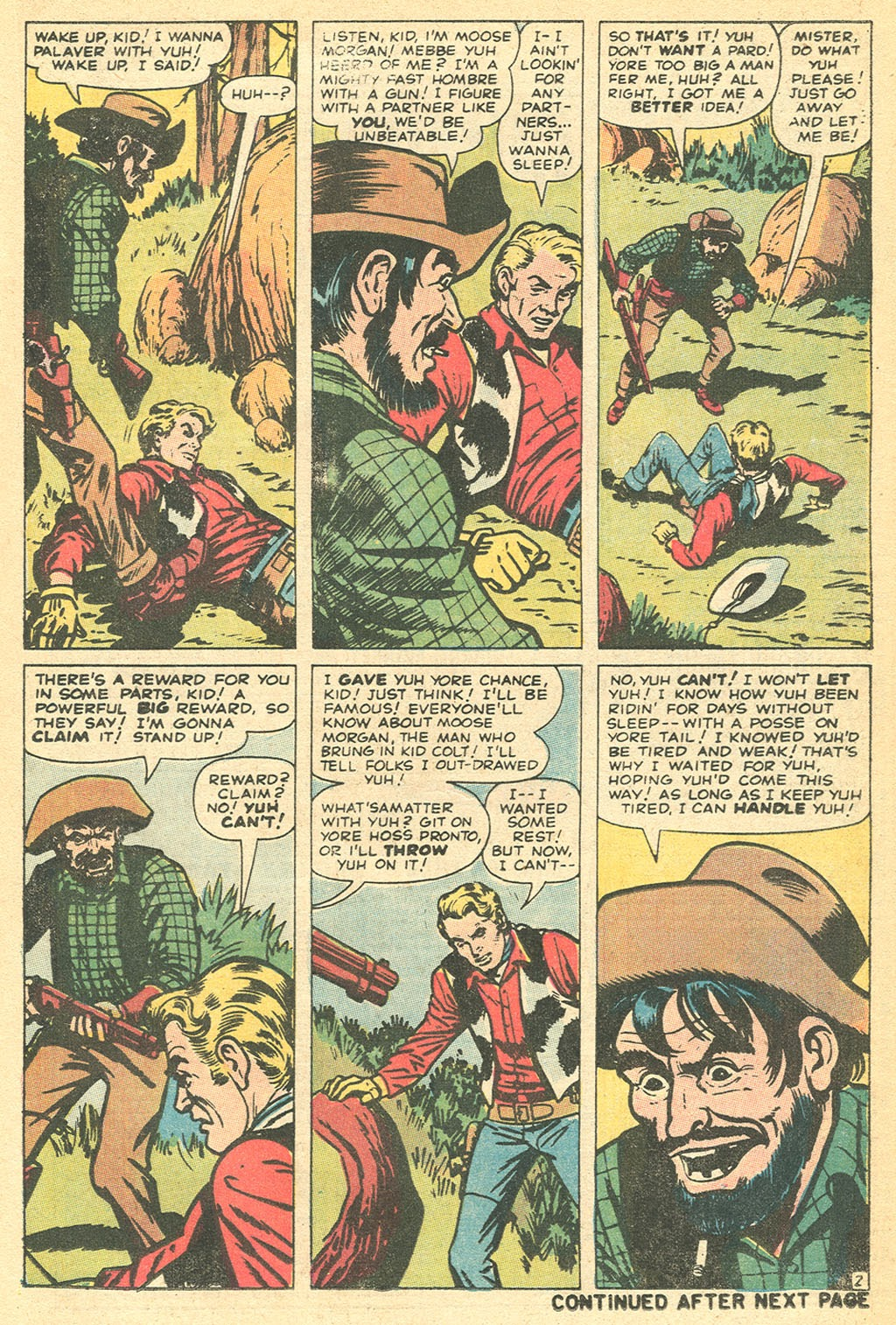 Kid Colt Outlaw issue 152 - Page 21