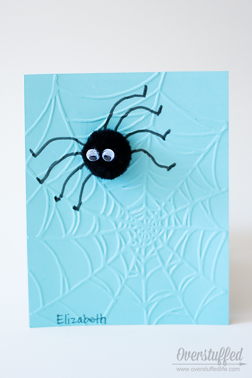 Charlotte's Web Book Club Invitation-- could be a fun Halloween or Birthday invitation, too! Easy to make!