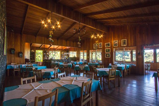 Restaurante del Cloud Forest Lodge