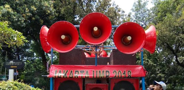 Aktivis ProDem Kembali Kepung Istana Jokowi