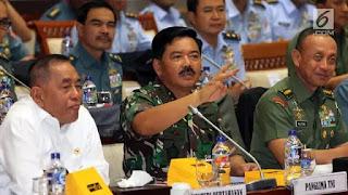 Panglima TNI Ajukan Rp 1,5 Triliun untuk Komando Operasi Khusus