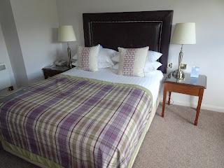 bedroom in macdoald cardrona hotel