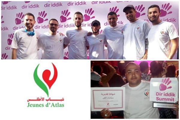 جمعية شباب الأطلس بتارودانت تتوج بجائزة أفضل مبادرة مدنية لسنة 2018
