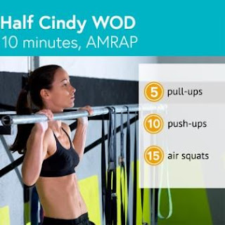 5 CrossFit Training for Beginners as a Fat Burning Exercise - Half Cindy