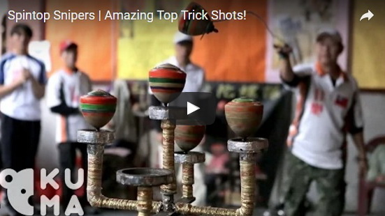 http://funchoice.org/video-collection/amazing-spintop-tricks