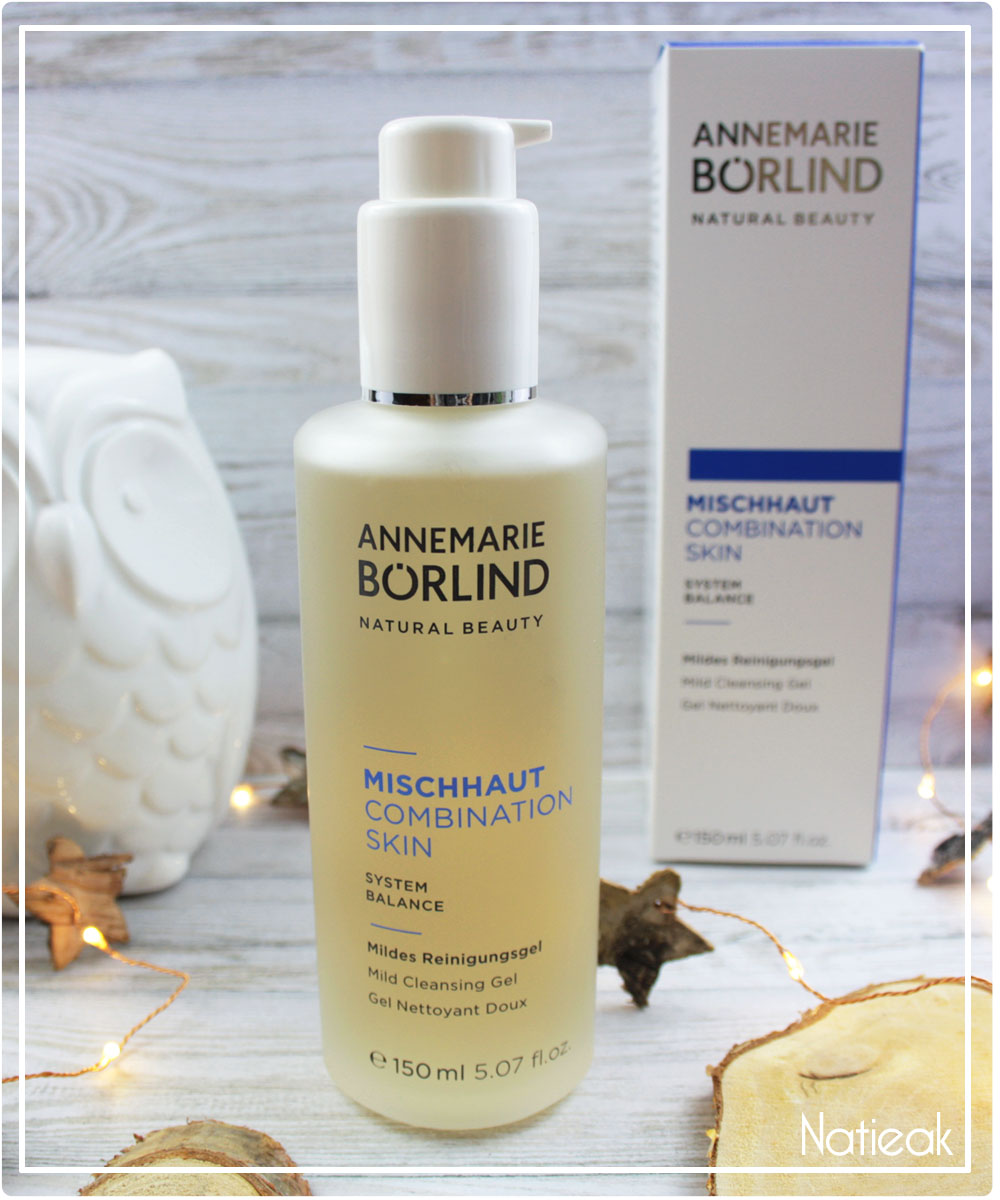 gel nettoyant peau mixte sensible