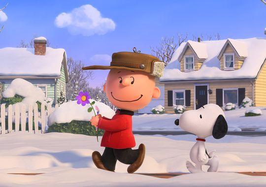 imagenes de Snoopy en Navidad