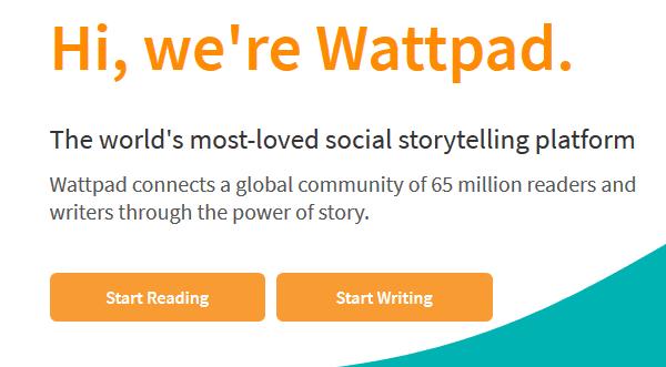 Mulai menulis Di Wattpad